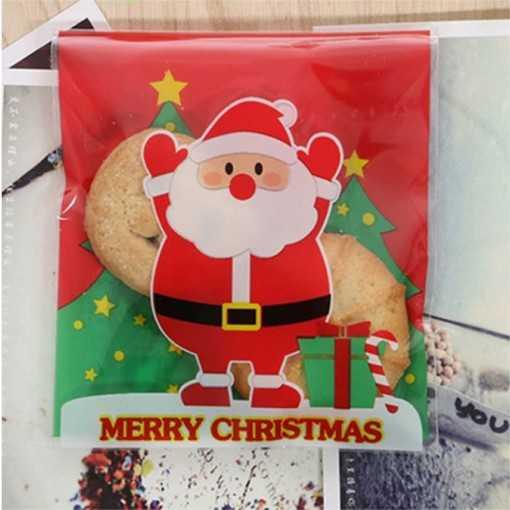 Sachet à cookie - Père Noël