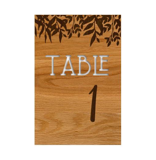 Numéros de table -...