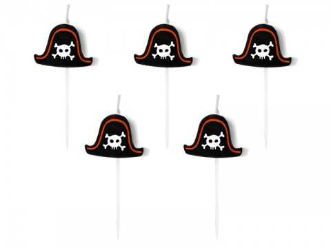 5 Bougies pirate