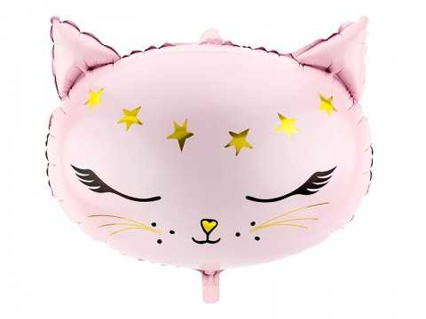 Ballon tête de chat