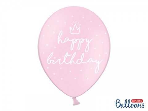 "Ballon Rose ""Happy..."