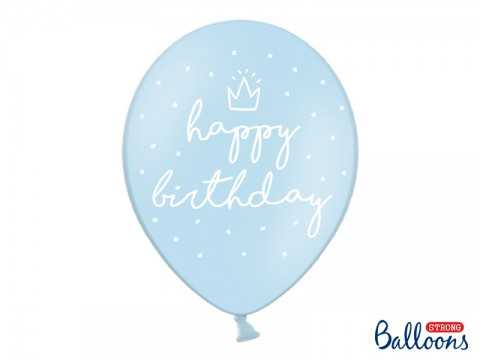 """Ballon Bleu """"Happy..."""