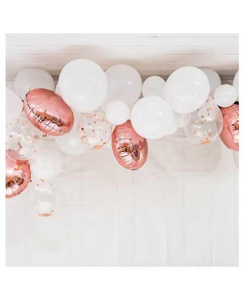 Arche de ballon Rose Gold