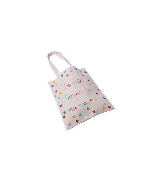 """Tote bag """" Le petit bazar..."""