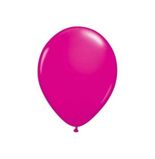 Ballon Rose vif 28cm