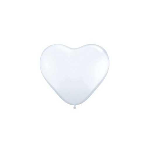 Petit ballon coeur rose - 15cm