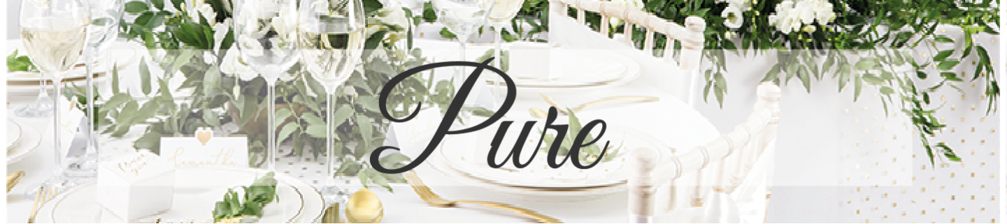 Pure - Blanc & Or
